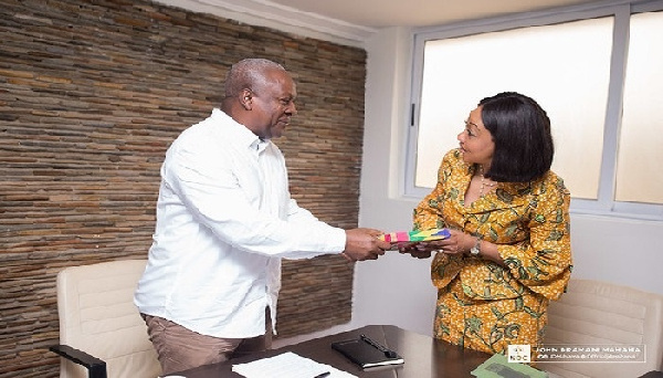 Publish names of persons removed from voter roll to avert chaos – Mahama to EC