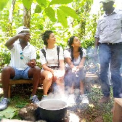 Kilimanjaro region in Northern Tanzania attracts tens of thousands of people to visit during Christmas and New Year joining their families for the festivities