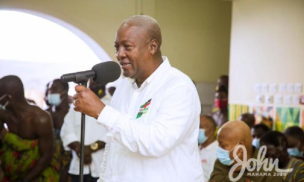 Akufo-Addo has bastardized the image of the Ghana Police – Mahama
