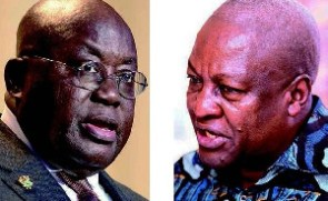 President Akufo-Addo and John Mahama