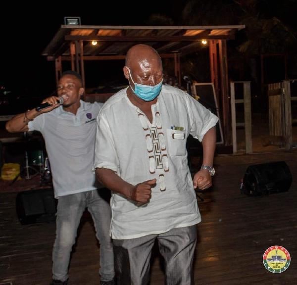 Photos: MPs defy Akufo-Addo's directive to organise a party at Aqua Safari 9