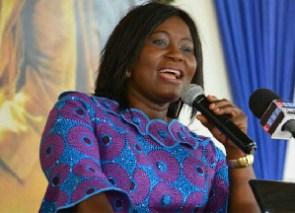 Elizabeth Afoley Quaye, Minister, Fisheries and Aquaculture Development