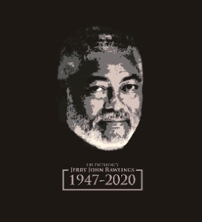 Former President Rawlings died on Thursday, 12 November, 2020 at the age of 73