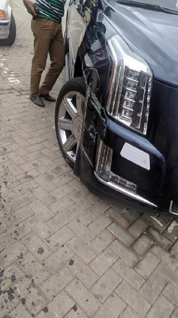 Bus driver in trouble after 'scratching' Kennedy Agyapong's Escalade[photos + audio] 1