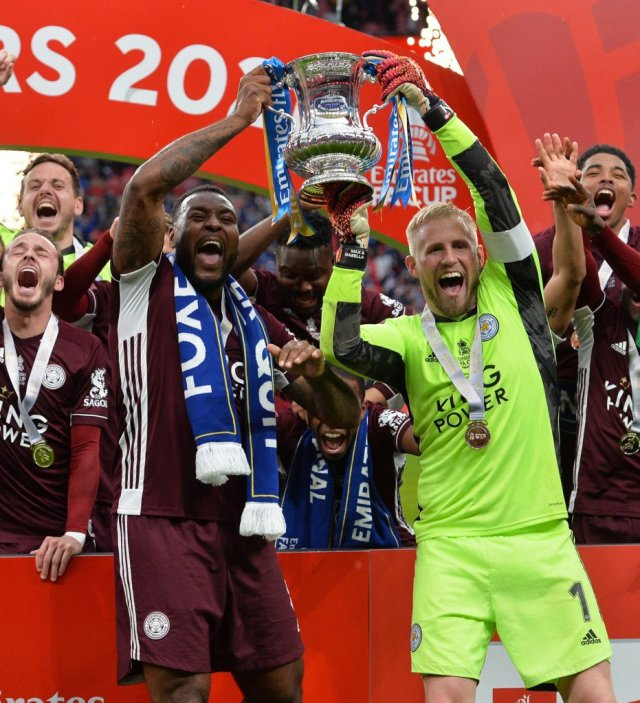 Daniel Amartey wins FA Cup at Wembley with Leicester City