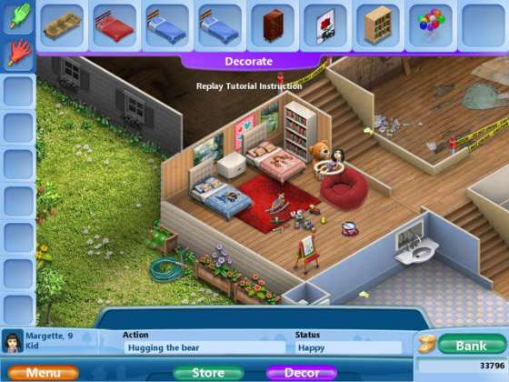 Strategy Games   GameHouse     Play Virtual Families 2   Our Dream House