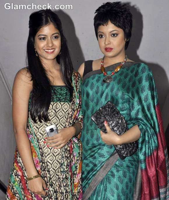 Tanushree Dutta Goes Traditional For Garodia International