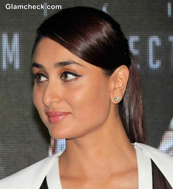 Kareena Kapoors Natural Makeup At The Launch Of Singham