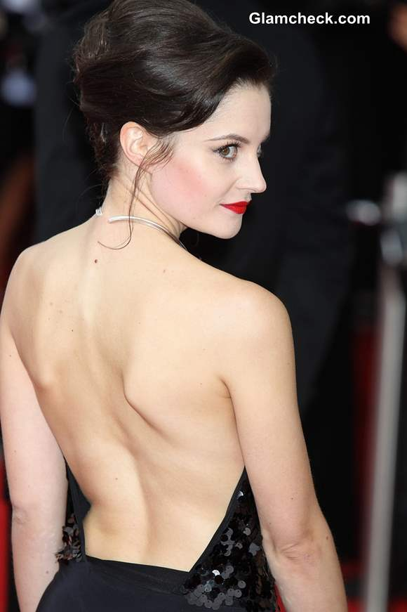 Backless Beauty Paula Lane Shows Off Some Skin At 2013 TV