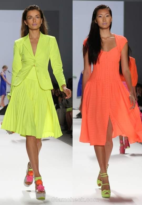 Nanette Lepore  s-s 2012 neon collection-3
