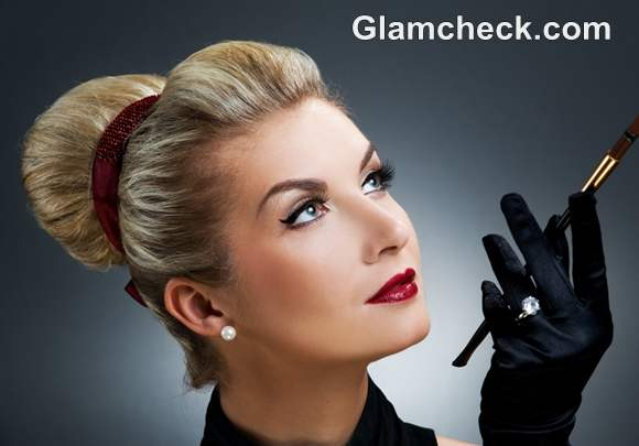 Retro Hairstyles And Makeup Looks How To