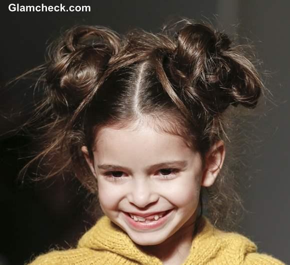 DIY Kids Hairdo Twice The Fun Double Top Knots