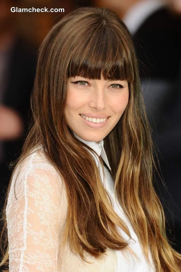 Celebrity Hair Color Jessica Biel Turns Ombre