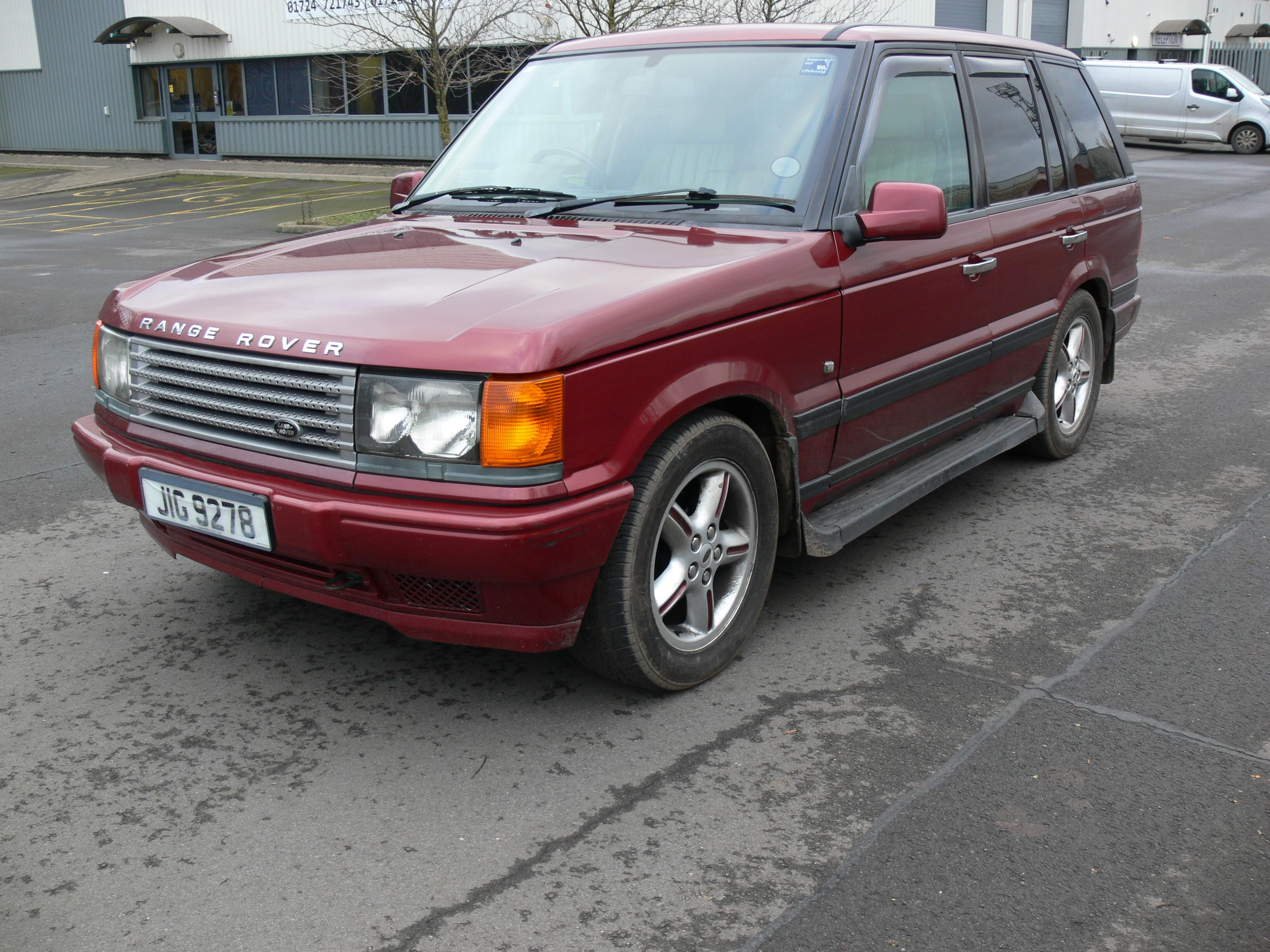 Land Rover Range Rover P38 automatic Date of first registration