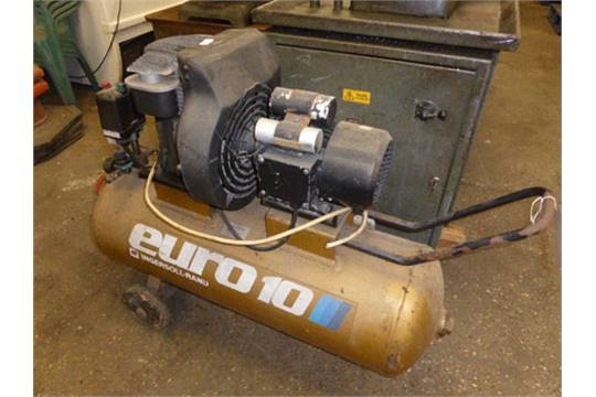 Euro 10 Receiver Mounted Compressor By Ingersoll-Rand