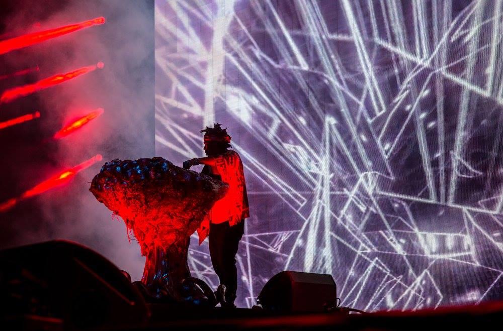 Flying Lotus announces North American 3D tour ile ilgili görsel sonucu