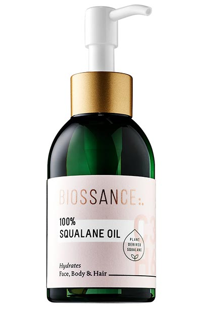 Best Squalane Oils for Skin Care: Biossance 100% Squalane Oil