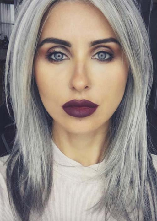 Cool Grey Hair Colors Tips For Going Gray