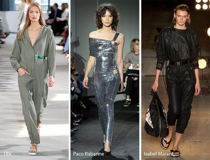 ba4228b0a7 Photo collage of 2018 jumpsuits by Tibi