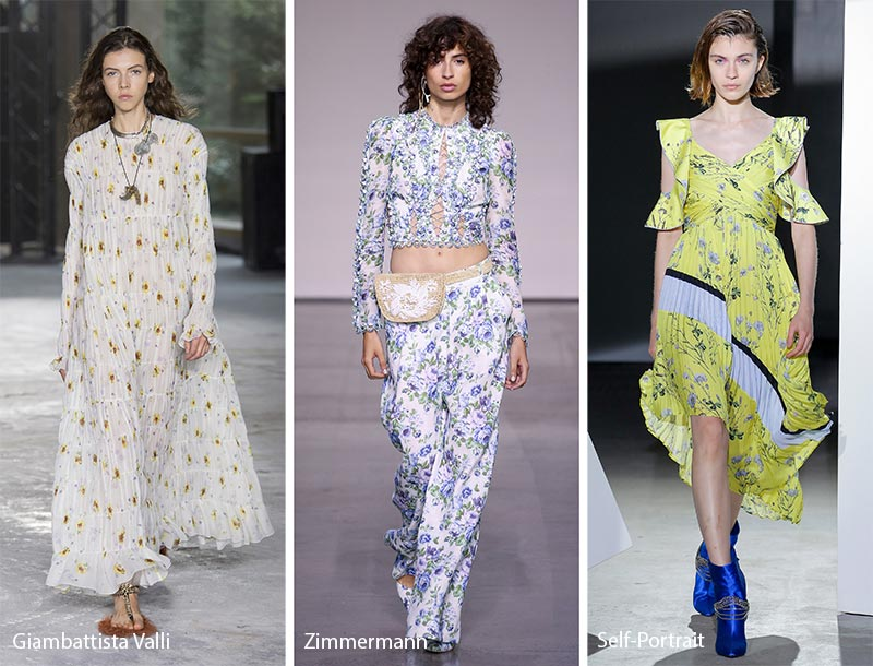 Spring/ Summer 2018 Print Trends: Micro Floral Patterns