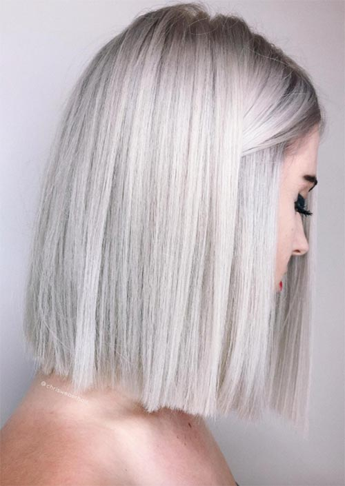 53 Coolest Winter Hair Colors To Embrace In 2019 Glowsly