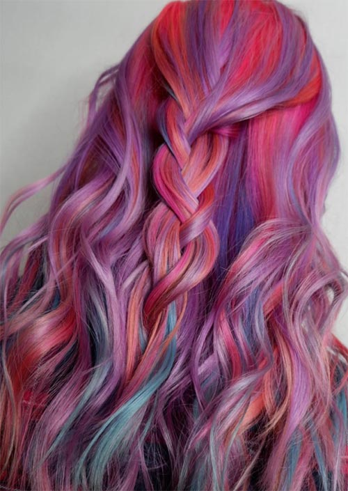 How To Use Hair Chalk Best Hair Chalks For A Temporary