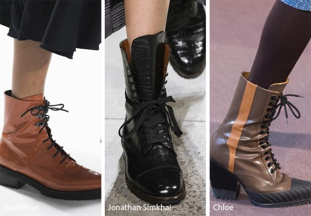 Fall/ Winter 2018-2019 Shoe Trends: Combat Boots