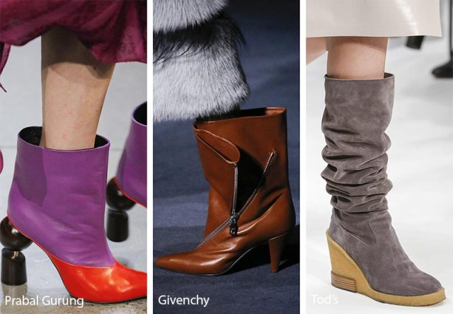 Fall/ Winter 2018-2019 Shoe Trends: Spacious Mid-Calf Boots