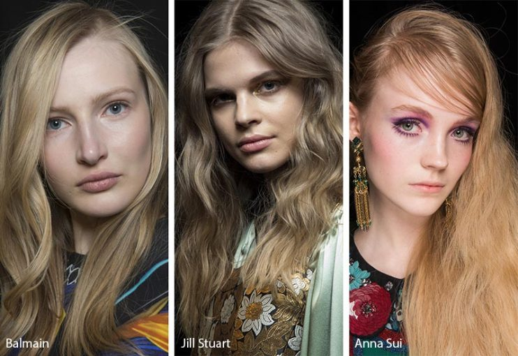 Fall  Winter 2018 2019 Hairstyle Trends   Fall 2018 Runway Hair     Fall  Winter 2018 2019 Hair Color Trends  Dirty Blonde Hair