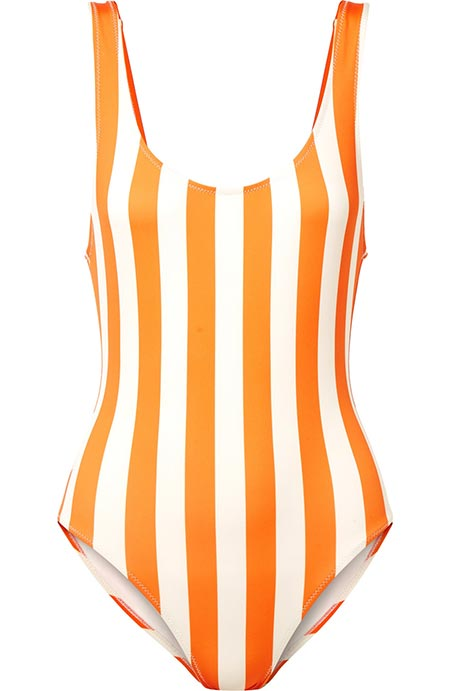 One-Piece Swimsuits for Women: Solid & Striped One-Piece Swimsuit