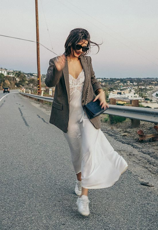 How to Style a Slip Dress