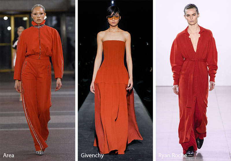 Fall/ Winter 2019-2020 Color Trends: Summer Fig Red
