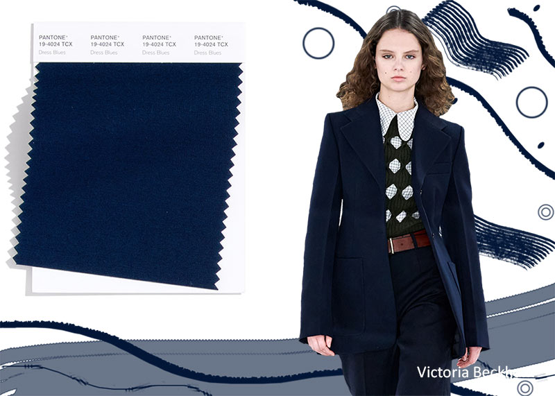 Pantone Fall/ Winter 2020-2021 Colors Trends: Dress Blues