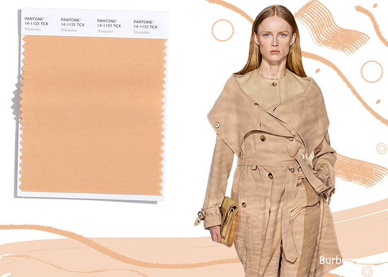 Pantone Fall/ Winter 2020-2021 Colors Trends: Sheepskin