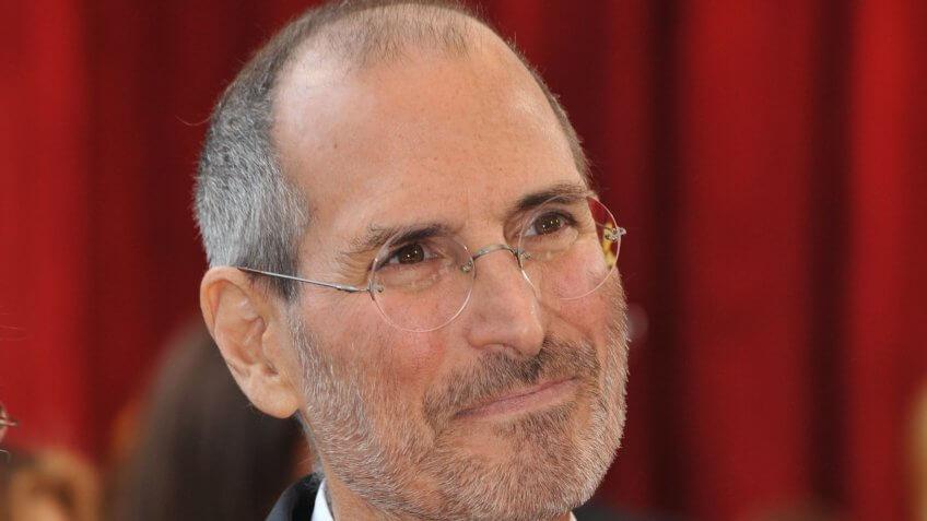 Steve Jobs en los 82 ° Premios Anuales de la Academia en el Teatro Kodak, Hollywood.