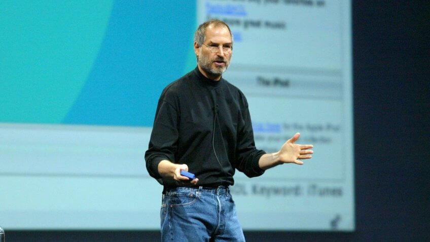 Steve Jobs en la Conferencia Macworld