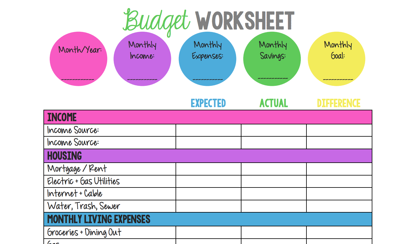 14 Free Budget Templates And Spreadsheets