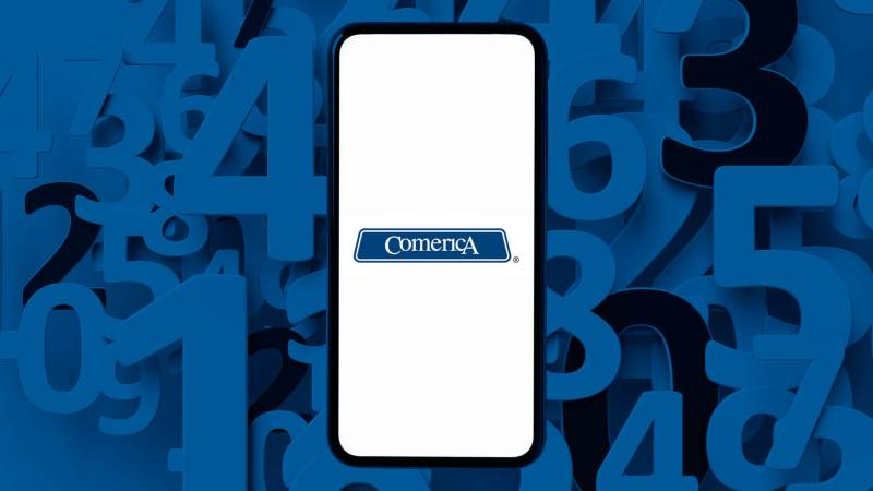 Comerica Bank routing number