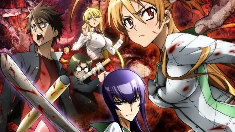 Anime Like High School DxD