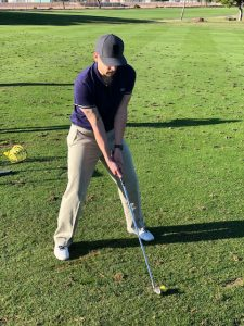 golf warm up irons