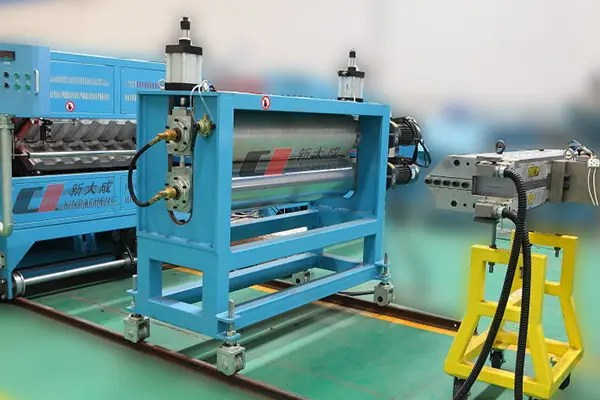 drip irrigation pipe line strap band production line krah tube mold xindacheng