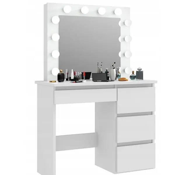 China Modern Dressing Table With Mirror Makeup Table Vanity Table In Bedroom Manufacturer And Supplier Joysource