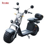 Harley Electric Scooter R804o With Off Road Tire Wholesale Price China Shenzhen Rooder Technology