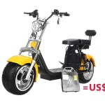 Harley Style Citycoco Electric Scooter With 1000w Motor 2 Units Removable Batteries From City Coco Bike Manufacturing Rooder Technology Limited China Shenzhen Rooder Technology