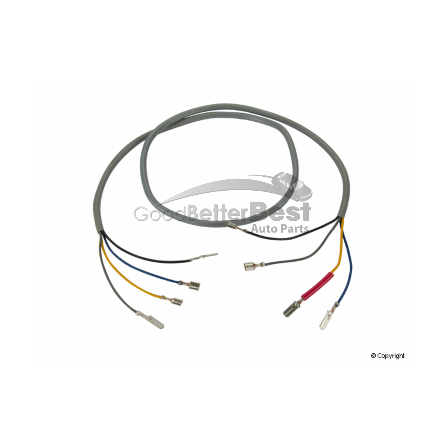 One New Professional Parts Sweden Tailgate Wiring Harness