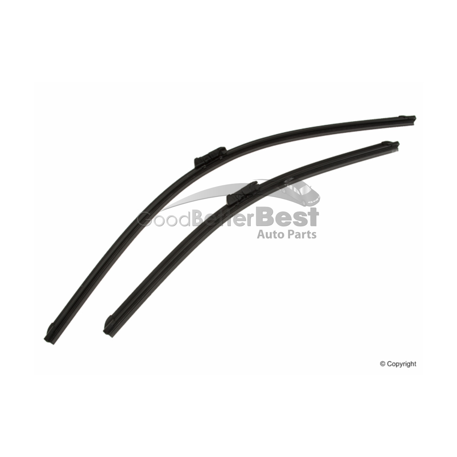 New Bosch Windshield Wiper Blade Set Front For