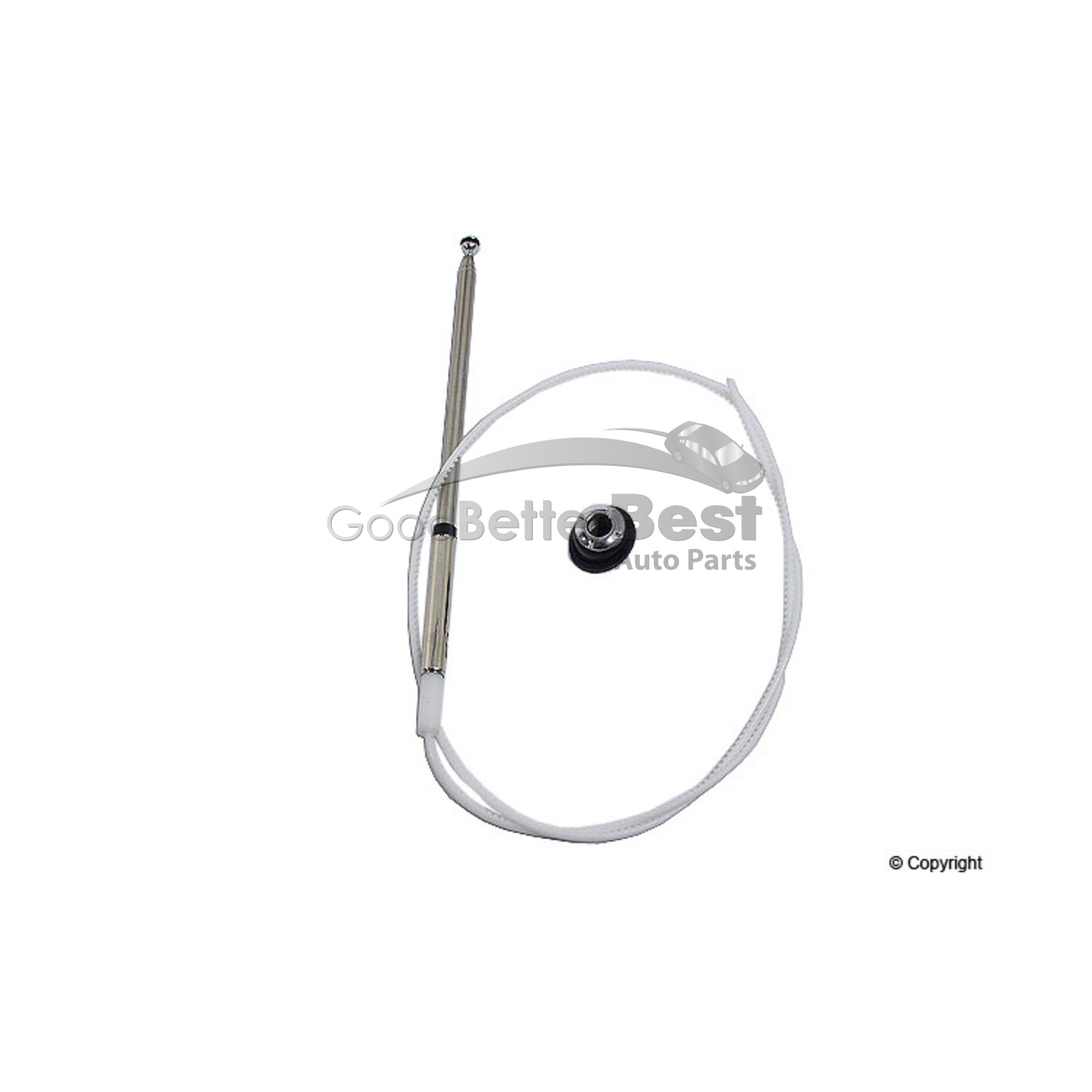 One New Mtc Antenna Mast Sm For Honda