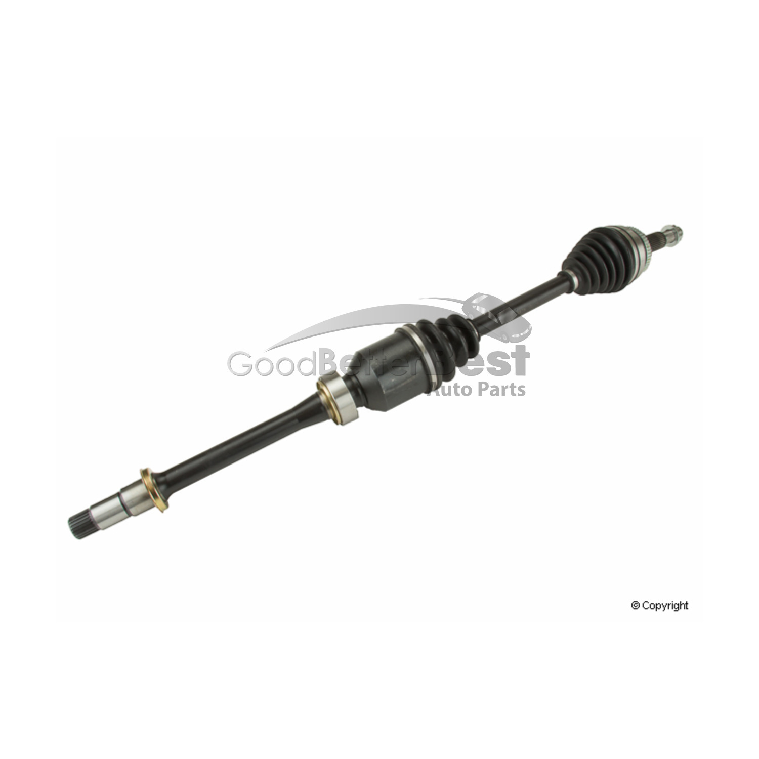 One New Opparts Cv Axle Shaft Front Right To