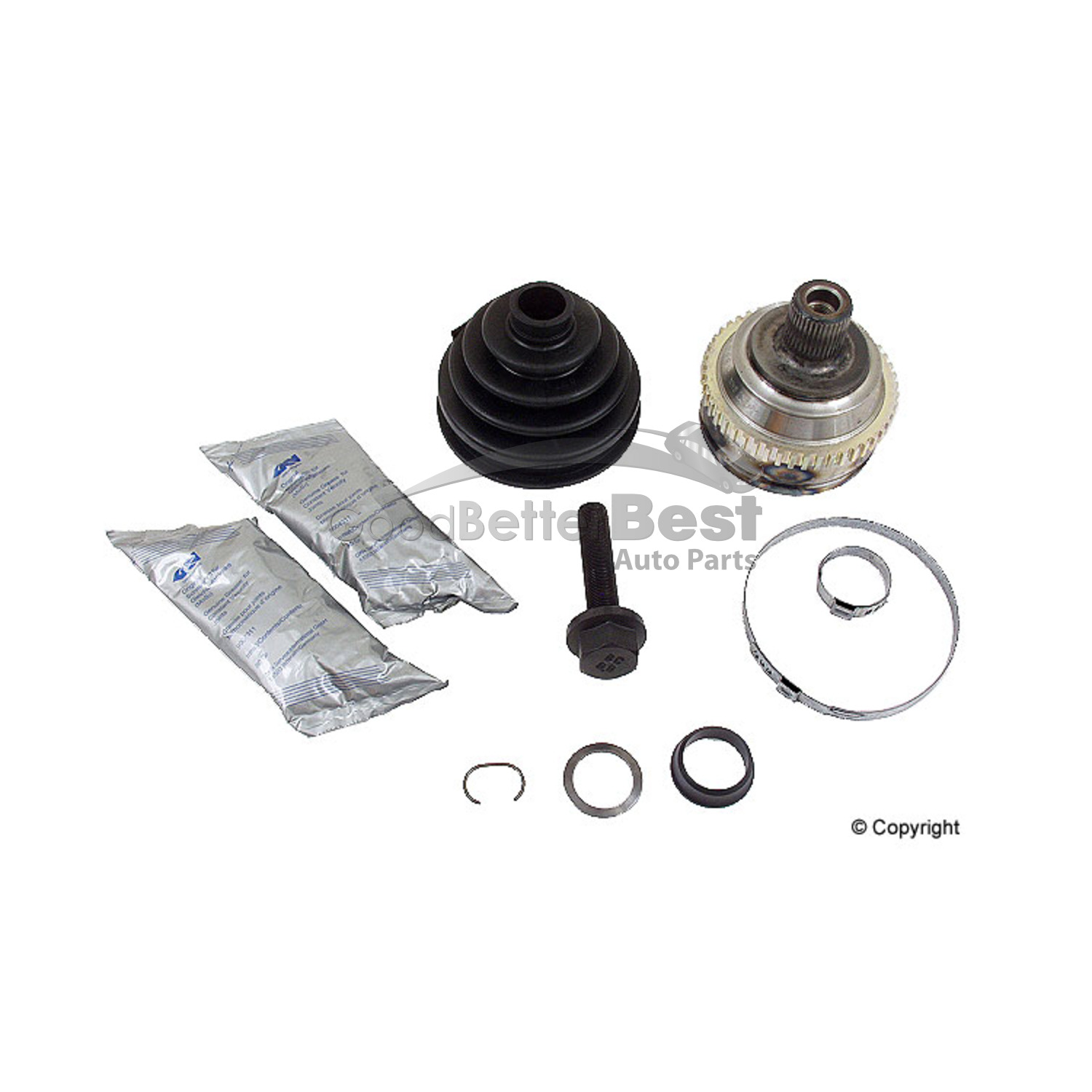 New Loebro Drive Shaft Cv Joint Kit Front Outer