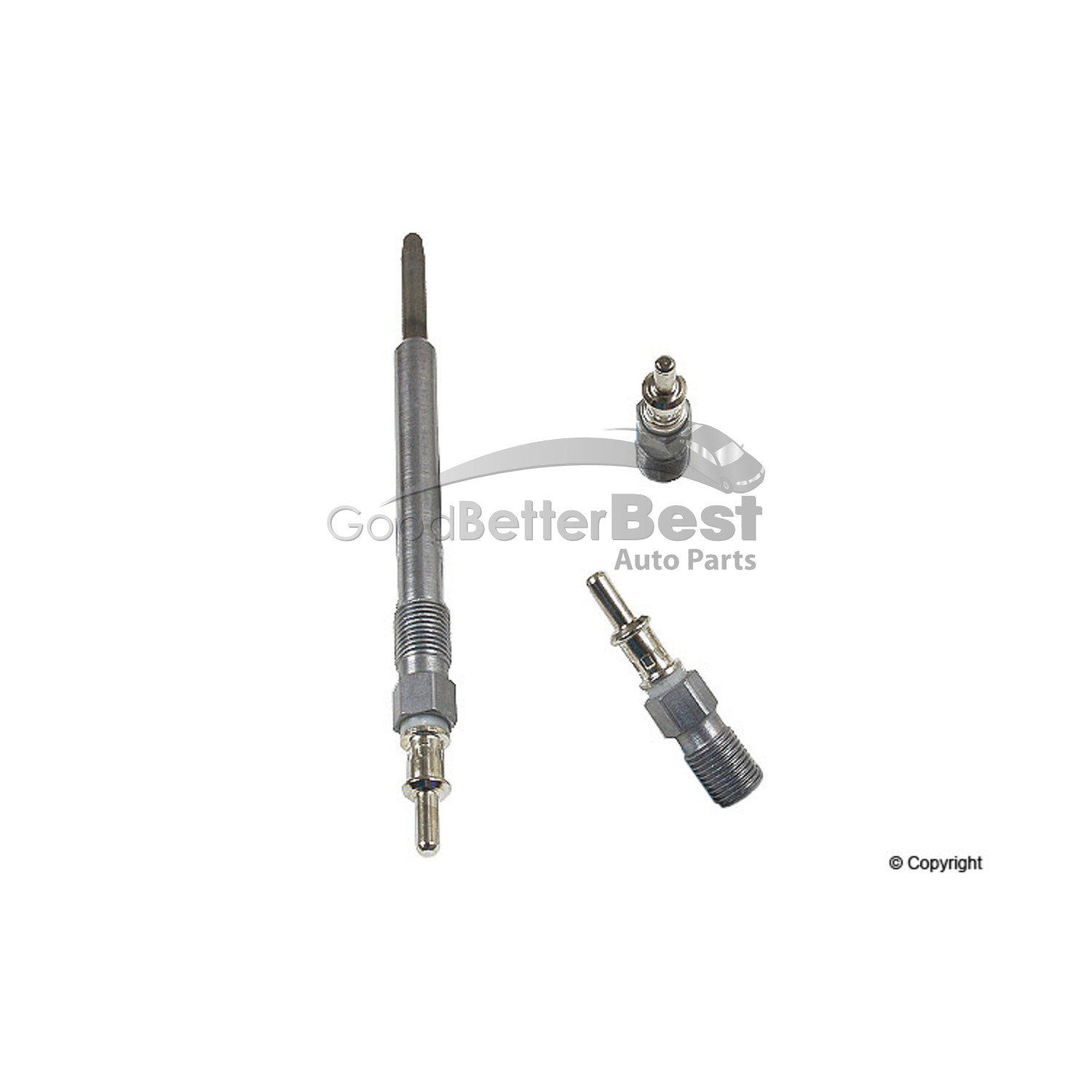 One New Boschsel Glow Plug For Dodge